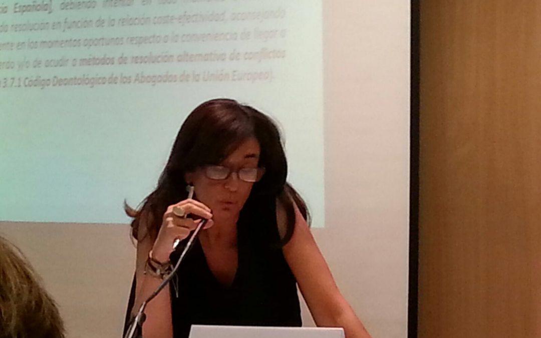 «Mediación empresarial, una especialidad, la relación abogado-mediador-cliente»